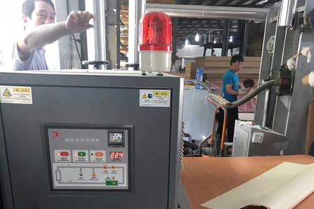 胶合板热压成型控温