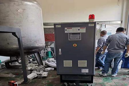 高温油温机(电加热导热油炉)在垃圾分类回收中应用